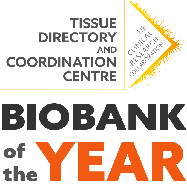 TDCC logo for Biobank of the Year