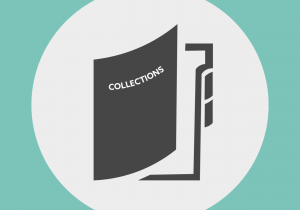 File folder labelled as 'collections'