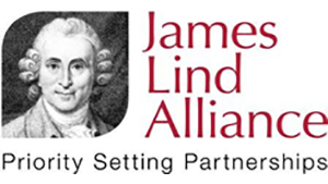 Logo of James Lind Alliance featuring an illustration of James Lind