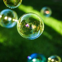 Photograph of bubbles